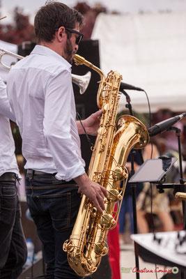François-Marie Moreau; Shob & Friends. Festival JAZZ360 2018, Quinsac. 10/06/2018