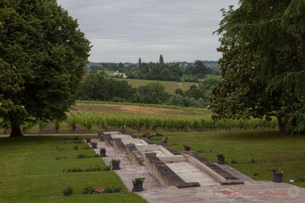 Camblanes-et-Meynac depuis le Château Duplessy, Cénac. Randonnée pédestre Jazz360 2016, de Cénac à Quinsac