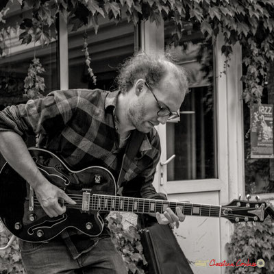 Robin Jolivet; Robin & The Woods Duo. Festival JAZZ360 2018, Cénac. 08/06/2018