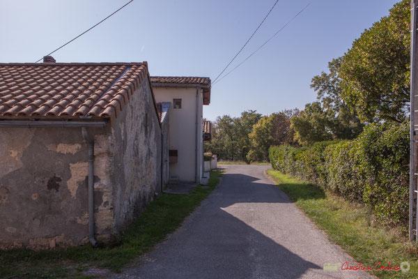 11 Hameau du Cloutet, Cénac, Gironde. 16/10/2017