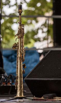 Clarinette d'Eric Séva, Festival JAZZ360 2016, Camblanes-et-Meynac, 11/06/2016