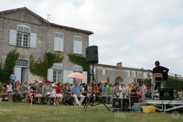 Philippe Bayle Trio, Festival JAZZ360 2011, Château Lestange, Quinsac. 05/06/2011