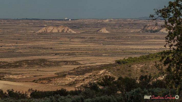 Magnifique panorama des Bardenas Reales (Blanca Baja) / Magnífico panorama de las Bardenas Reales (Blanca Baja), Parque natural de las Bardenas Reales, Navarra