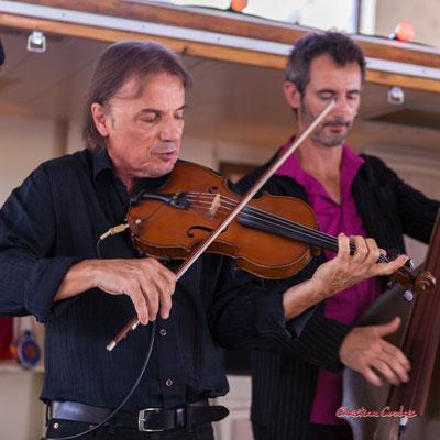 Bubu Boirie; Romano Dandies. Festival Ouvre la voix, Frontenac, samedi 4 septembre 2021. Photographie © Christian Coulais