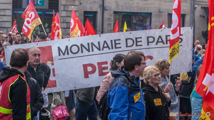 CGT Monnaie de Paris, Pessac. Manifestation contre la réforme du code du travail. Place Gambetta, Bordeaux, 12/09/2017