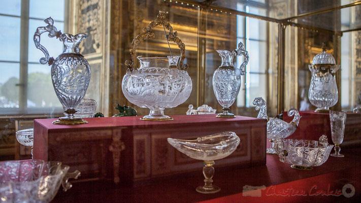 Aiguières et coupes, Galerie d'Apollon, Musée du Louvre