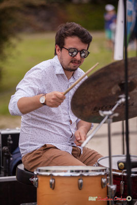 Nicolas Girardi; Atelier jazz du conservatoire Jacques Thibaud. Festival JAZZ360, Quinsac. 10/06/2018