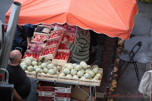 Fruits et légumes en direct du producteur, Marché de Créon, Gironde
