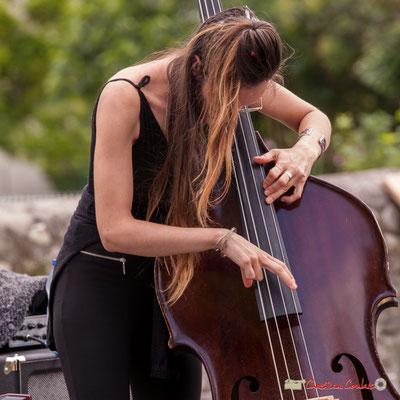 Laure Sanchez; Atelier Jazz du conservatoire Jacques Thibaud. Festival JAZZ360 2018, Quinsac. 10/06/2018