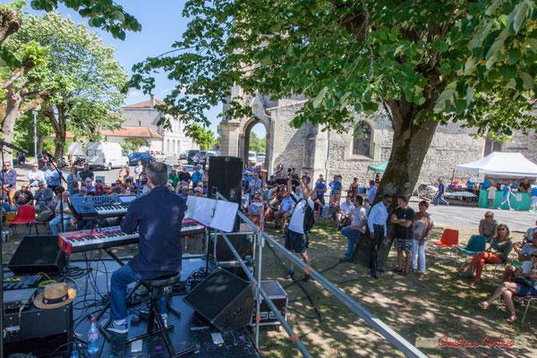 Tom Ibarra Group. Festival JAZZ360, 10 juin 2017, Camblanes-et-Meynac