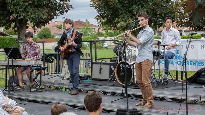 Pierre-Emmanuel Faye, Eddie Dhaini, Pierre Lucbert, Alexandre Aguilera, Festival JAZZ360 2016, Cénac, 11/06/2016
