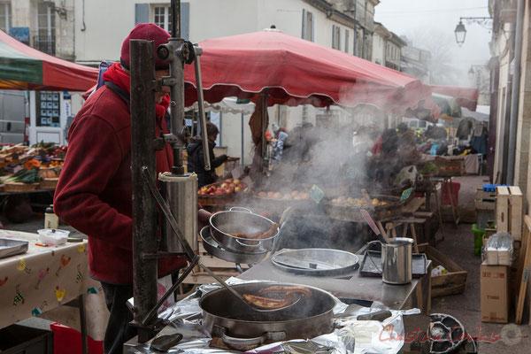 Un chichi chaud ? Marché de Créon, Gironde