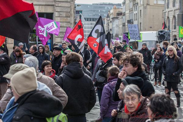 14h49, C.N.T. : Confédération Nationale des Travailleurs. Place Gambetta
