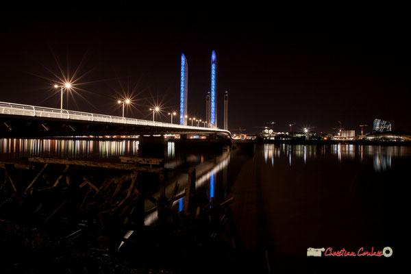 Le pont Jacques Chaban-Delmas photographié par Christian Coulais. Bordeaux, 27 février 2019