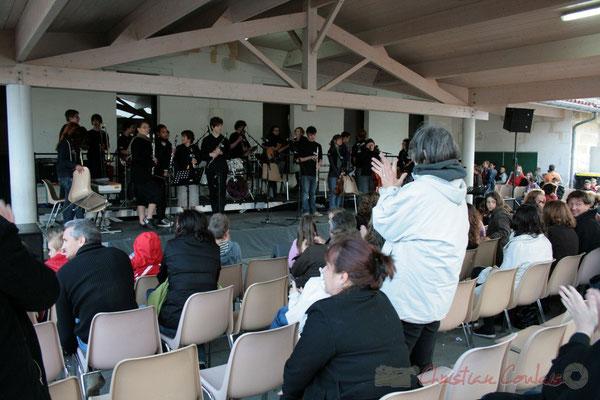 Big Band Jazz du Collège Eléonore de Provence, de Monségur (promotion 2010). Festival JAZZ360 2010, Cénac. 12/05/2010