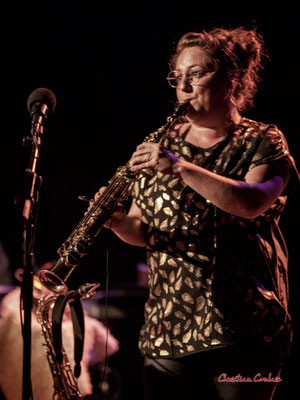 Carla Gaudré ; Høst. Festival JAZZ360, Cénac. Vendredi 4 juin 2021. Photographie © Christian Coulais