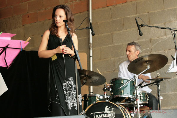 Florinda Piticchio, Iano Anzelmo; Florinda Piticchio & Balarm Quartet, Festival JAZZ360, Cénac. 05/06/2011