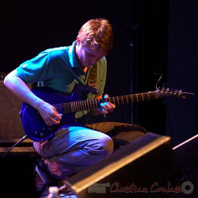 Mathias Monseigne; Edmond Bilal Band, Festival JAZZ360 2013, Cénac. 07/06/2013