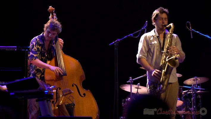 Philippe Siffre, Paul Robert; Edmond Bilal Band, Festival JAZZ360 2013, Cénac. 07/06/2013