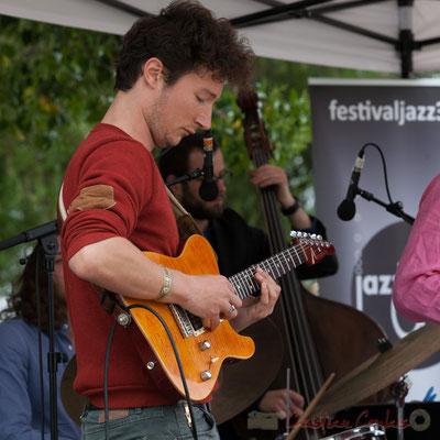 Alexis Valet Quartet : Yori Moy. Festival JAZZ360 2016, Quinsac, 12/06/2016