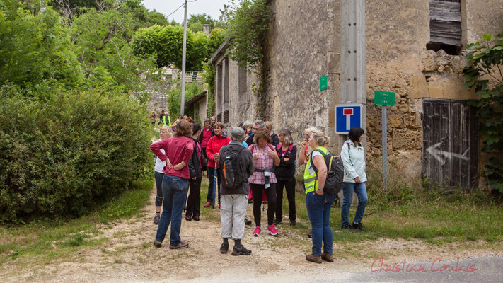 Camblanes-et-Meynac / Quinsac, la frontière. Randonnée pédestre Jazz360 2016, de Cénac à Quinsac, 12/06/2016
