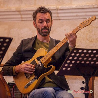 Federico Casagrande; François Poitou Quintet. Festival JAZZ360 2019, Cénac. 07/06/2019