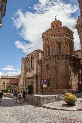 Après la conquête de la Tudela Musulmane en 1119, sur la Grande Mosquée (IXème s.) est construite une Collégiale qui deviendra Cathédrale en 1783. Catedral Santa Maria la Blanca, Tudela, Navarra