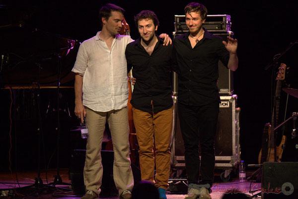 Festival JAZZ360 2015, Rémi Bouyssière, Laurent Coulondre, Martin Wangermée; Laurent Coulondre Trio. Cénac, 12/06/2015