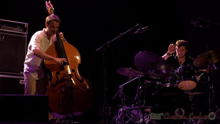 Festival JAZZ360 2015, Rémi Bouyssière, Martin Wangermée; Laurent Coulondre Trio. Cénac, 12/06/2015