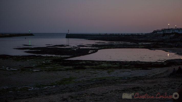 Dans l'attente du Feu d'artifice du 14 juillet 2016, Saint-Gilles-Croix-de-Vie