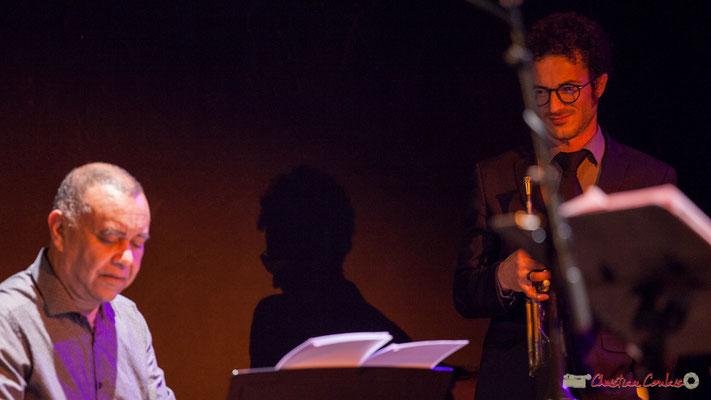 Nokalipcis Project; Francis Fontès, Mickaël Chevalier. Soirée-Cabaret JAZZ360, Cénac, 04/11/2017