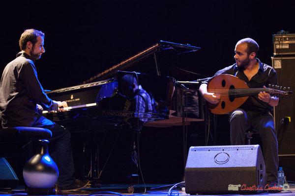 Eym Trio; Elie Dufour, Mohamed Abozekry. Festival JAZZ360, 09/06/2017
