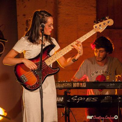 Laure Sanchez, Robin Magord; Laure Sanchez Quintet, JAZZ360 au Domaine de Sentout, Lignan-de-Bordeaux. 08/09/2018