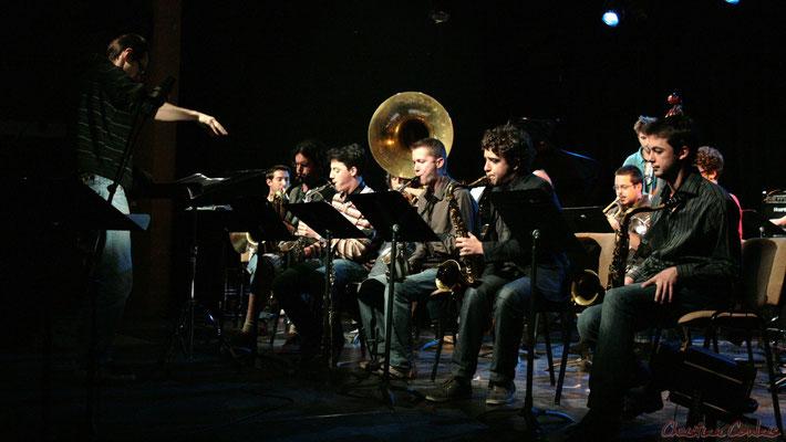 Festival JAZZ360, Big Band du Conservatoire Jacques Thibaud de Bordeaux, Cénac