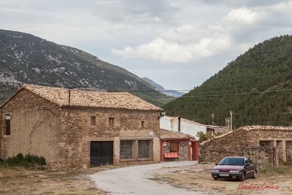 En direction de Jaca. Liédena, Navarra