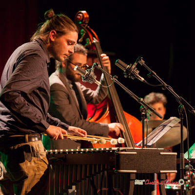 Félix Robin, Louis Laville, Thomas Galvan; Capucine Quartet, Soirée Cabaret JAZZ360, Cénac. Samedi 16 mars 2019