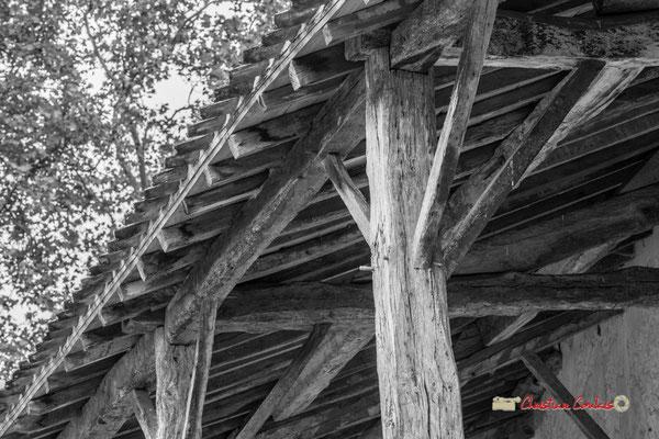 Charpente des communs, Domaine de Malagar. Centre François Mauriac, Saint-Maixant. 28/09/2019 Reproduction interdite - Tous droits réservés © Christian Coulais
