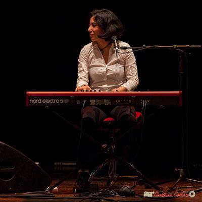 Akoda Trio : Valérie Chane-Tef. Soirée cabaret JAZZ360, Cénac. 17/03/2018