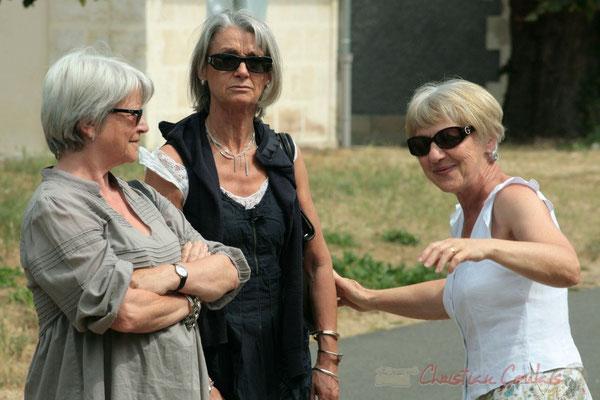 Au centre Simone Ferrer, Maire de Cénac. Randonnée Jazzy organisée par A.L.I.C.E., Citon-Cénac. 04/06/2011