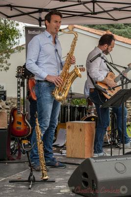 Thomas Lachaize, Jean Lassallette, Taldea Group. Festival JAZZ360 2016, Quinsac, 12/06/2016