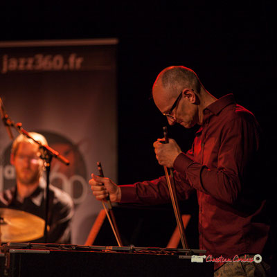 David Patrois; Medium Ensemble 3 de Pierre de Bethmann. Festival JAZZ360 2019, Cénac. 07/06/2019