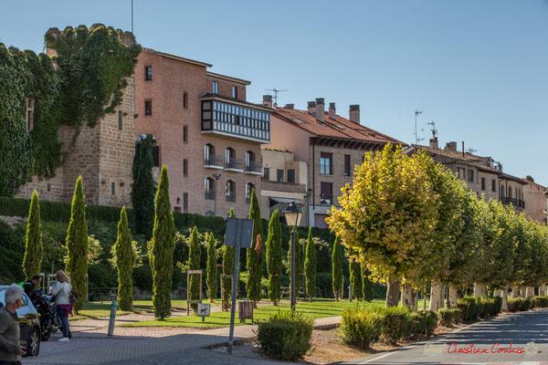 Ronda del castillo, Olite, Navara