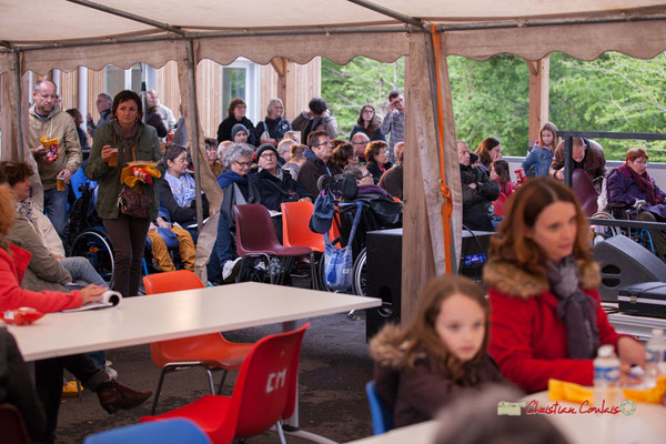 Plus d'une centaine de personnes ont apprécié le concert du Christophe Maroye Quartet. JAZZ360-M.A.S. L'ADAPT, Camblanes-et-Meynac. 17/05/2019.