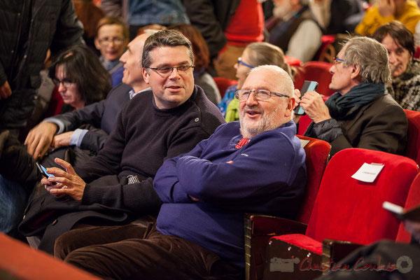 Dominique Fedieu, Conseiller départemental, Maire de Cussac-Fort-Médoc et Alain Renard, Vice-président du Conseil départemental de la Gironde, Maire de Saint-Savin. 2