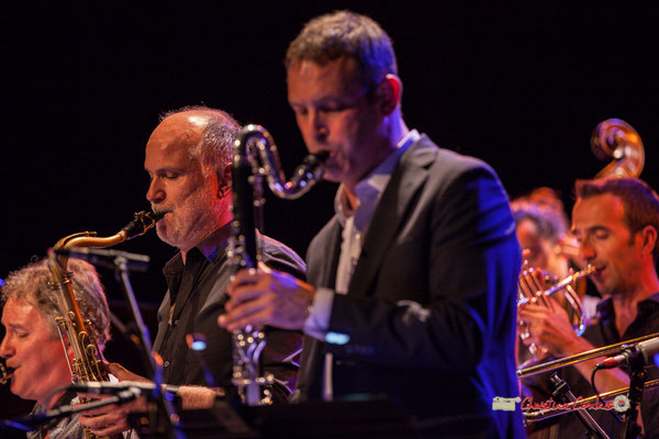 David El-Malek, Thomas Savy; Medium Ensemble 3 de Pierre de Bethmann. Festival JAZZ360 2019, Cénac. 07/06/2019