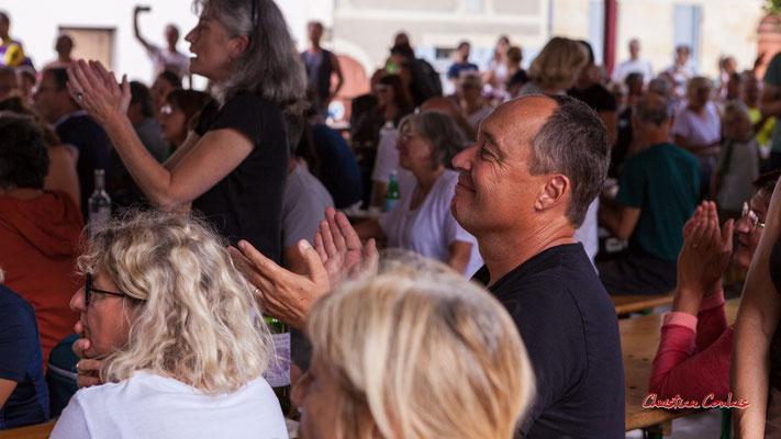 Concert Romano Dandies, halle de Frontenac. Ouvre la voix, samedi 4 septembre 2021. Photographie © Christian Coulais