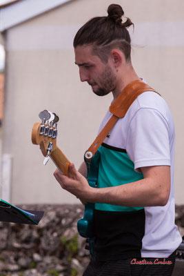 Noé Berne ; Cissy Street. Festival JAZZ360 2021, Quinsac, dimanche 6 juin 2021. Photographie © Christian Coulais