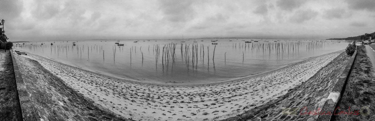 Boulevard de la Plage, le Bassin d'Arcachon, village de l'Herbe, presqu'ïle du Cap Ferret, Gironde