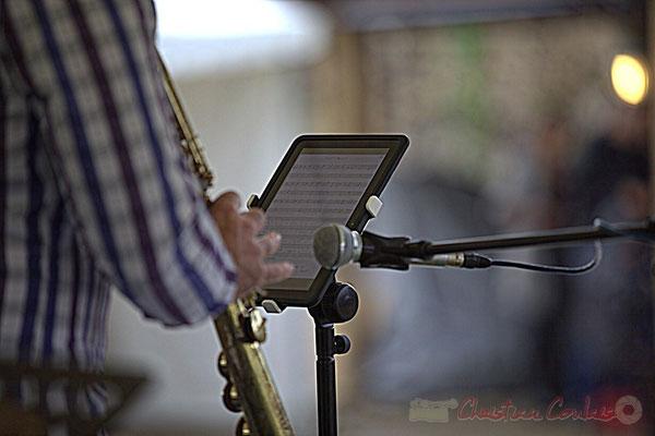 Partition numérique d'Hervé Fourticq; Affinity Quartet, Festival JAZZ360 2012, Quinsac, dimanche 10 juin 2012
