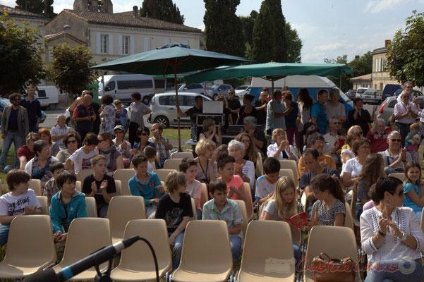 Festival JAZZ360 2015, place du bourg, Cénac